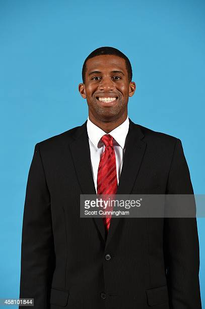 Charles Lee of the Atlanta Hawks poses for a photograph during the Atlanta Hawks Media Day on September 29 2014 at Philips Arena in Atlanta Georgia...