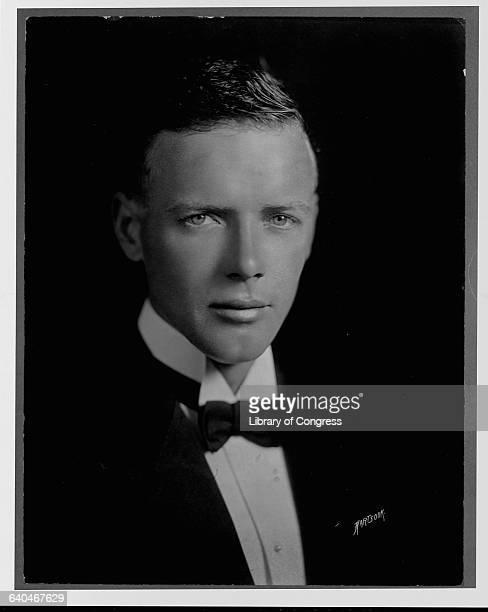 Charles Lindbergh in a Tuxedo