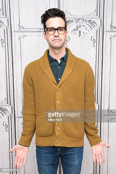 Charles 'Link' Neal III attends Build Series to discuss 'Rhett Link's Buddy System' at AOL HQ on December 20 2016 in New York City