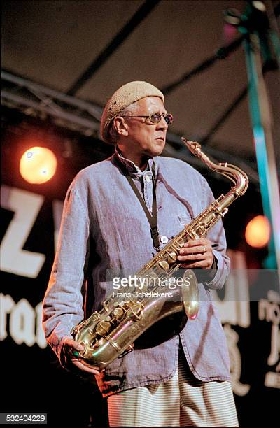 Charles Lloyd, tenor saxophone, performs on July 12th 1998 at the North Sea Jazz Festival in the Hague, Netherlands.
