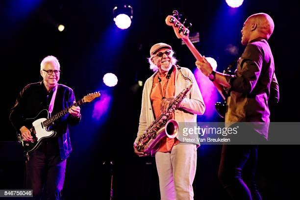Charles Lloyd The Marvels Performs at Jazz Middelheim Festival on August 03 2017 in Antwerp Belgium