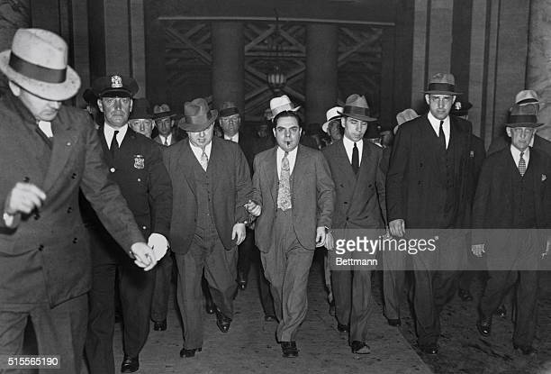 Charles Luciano convicted as the dictator of organized vice in New York City was sentenced to from 30 to 50 years in Sing Sing by Supreme Court...