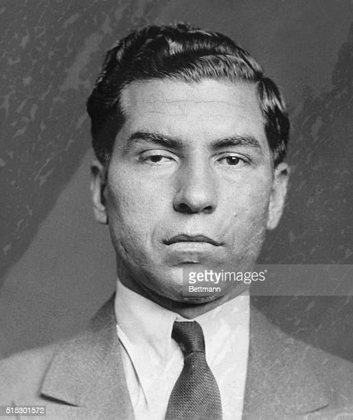 Charles Lucky Luciano a powerful chief of American organized crime during the early 1930s