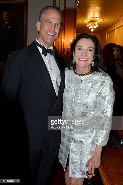 Charles Manger and Leslie Stevens attend the Lenox Hill Neighborhood House Associates Committee Fall Benefit Celebrate the Neighborhood Dinner and...