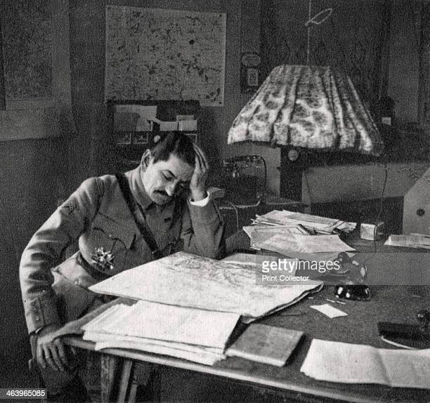 Charles Mangin French soldier 1918 Mangin was a general in the French Army during the First World War Nicknamed the Butcher by his troops he was a...