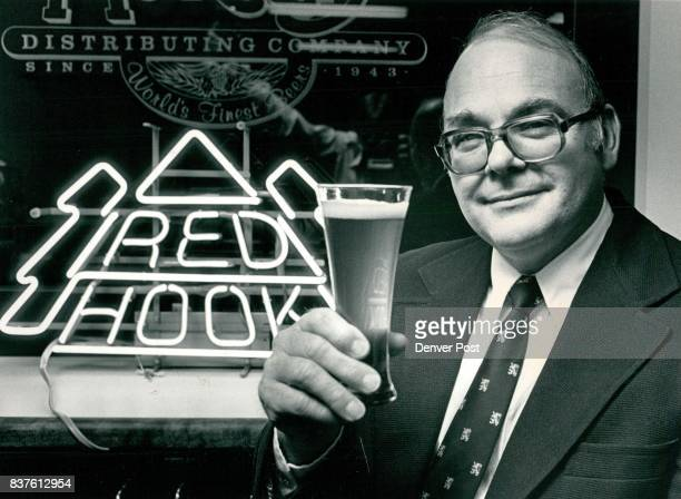 Charles McElevey brewmaster for independent Ale Brewery in Seattle samples Redhook Ale Credit The Denver Post