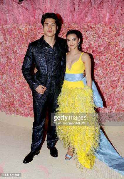Charles Melton and Camila Mendes attend The 2019 Met Gala Celebrating Camp Notes on Fashion at Metropolitan Museum of Art on May 06 2019 in New York...