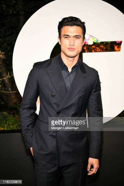 Charles Melton arrive at the 2019 GQ Men Of The Year event at The West Hollywood Edition on December 05 2019 in West Hollywood California