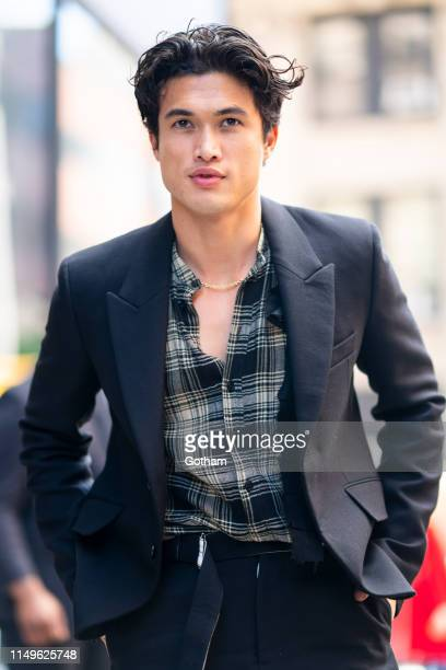 Charles Melton attends AOL Build in NoHo on May 16 2019 in New York City