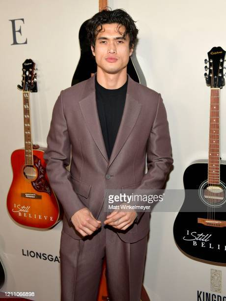 Charles Melton attends the premiere of Lionsgate's I Still Believe at ArcLight Hollywood on March 07 2020 in Hollywood California
