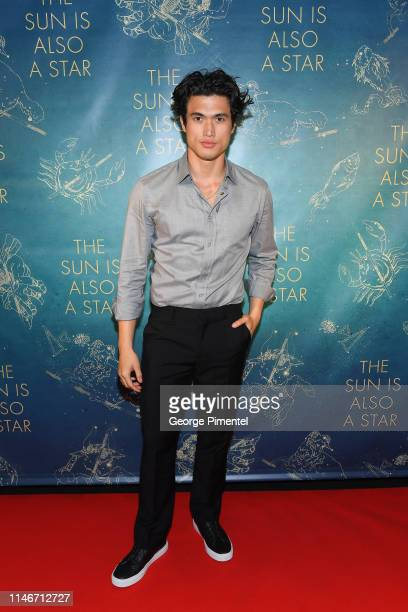 Charles Melton attends the ultimate 'Promposal' at a Toronto screening of 'The Sun Is Also a Star' at Cineplex Cinemas YongeDundas and VIP on May 02...