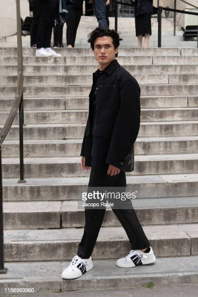 Charles Melton attends the Valentino Menswear Spring Summer 2020 show as part of Paris Fashion Week on June 19 2019 in Paris France