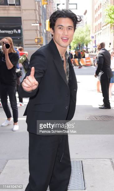 Charles Melton is seen on May 16 2019 in New York City