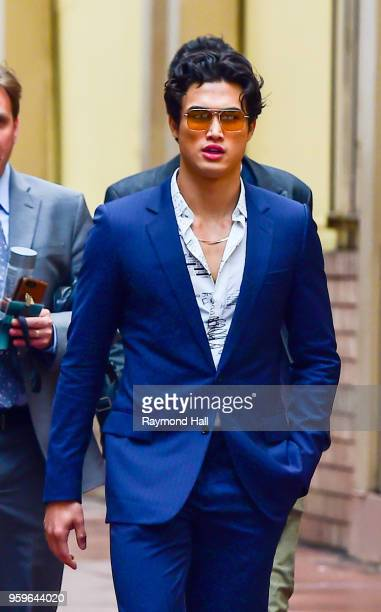 Charles Melton is seen walking in midtown on May 17 2018 in New York City