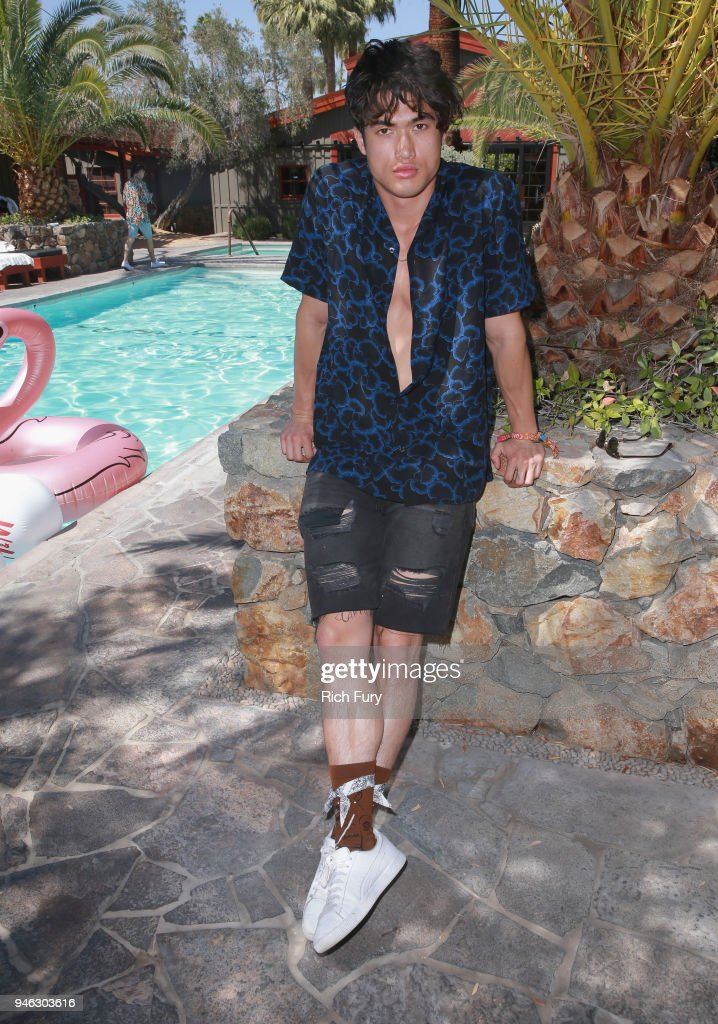 Poolside with H&M at The Sparrows Lodge : News Photo