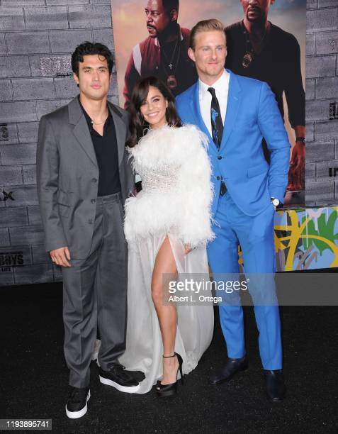 Charles Melton Vanessa Hudgens and Alexander Ludwig arrive for the Premiere Of Columbia Pictures' Bad Boys For Life held at TCL Chinese Theatre on...
