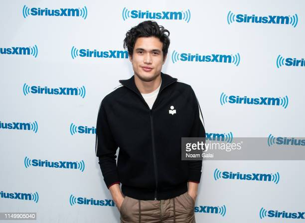 Charles Melton visits the SiriusXM Studios on May 17 2019 in New York City