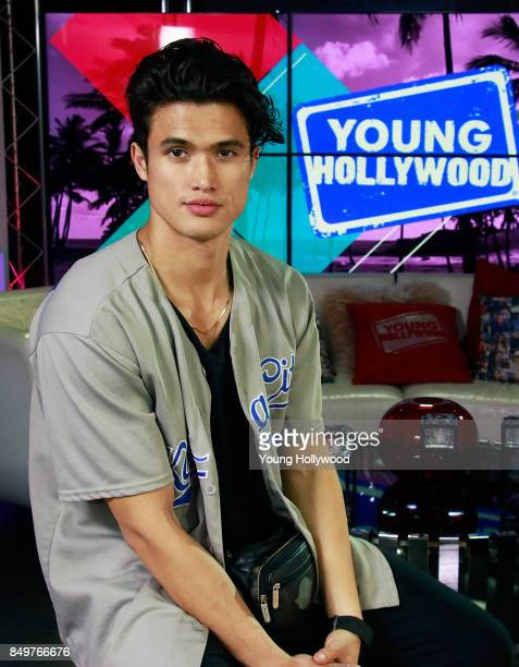 Charles Melton visits the Young Hollywood Studio on September 19 2017 in Los Angeles California