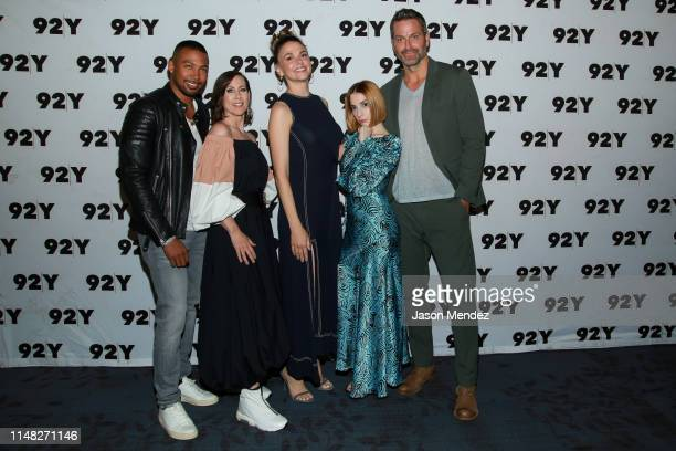 Charles Michael Davis Miriam Shor Sutton Foster Molly Bernard and Peter Hermann at 92nd Street Y on June 5 2019 in New York City