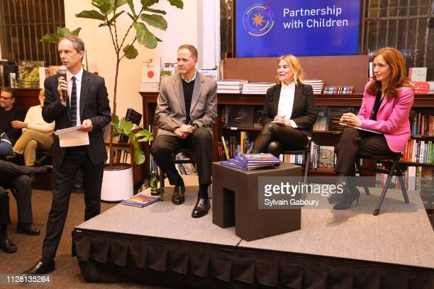 Charles Miers Lisa Berg Kevin DahillFuchel and Margaret Crotty attend Partnership With Children Book Launch With Rizzoli at Rizzoli Bookstore on...