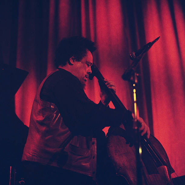 Charles Mingus Performs At Newport Wall Art