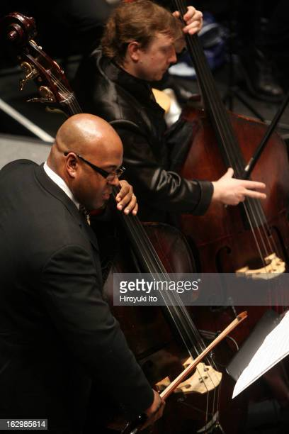 Charles Mingus's 'Epitaph' at Rose Theater on Wednesday night April 25 2007This imageChristian McBride left and Boris Kozlov on bass