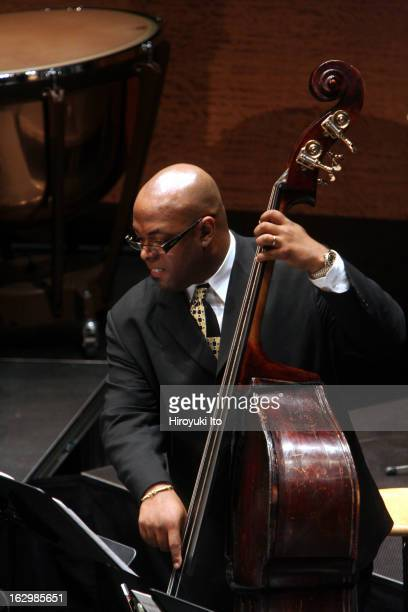 Charles Mingus's 'Epitaph' at Rose Theater on Wednesday night April 25 2007This imageChristian McBride on bass