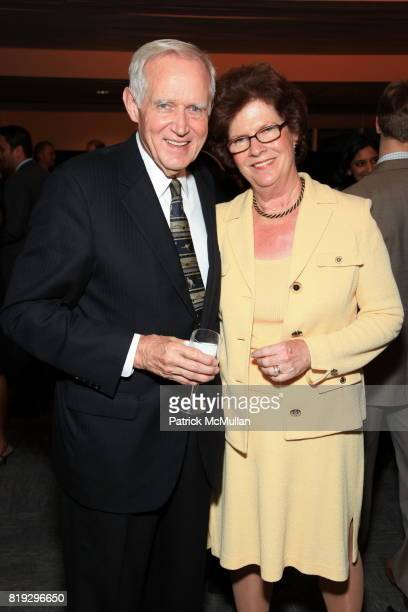 Charles Moore and Judith Moore attend INTERNATIONAL WIDOW'S DAY Dinner Hosted By Cherie Blair and The Loomba Foundation at the Delegates' Dining Room...