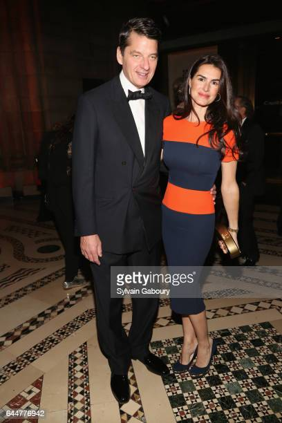 Charles Murphy and Annabella Murphy attend Museum of the City of New York Winter Ball at Cipriani 42nd Street on February 23 2017 in New York City