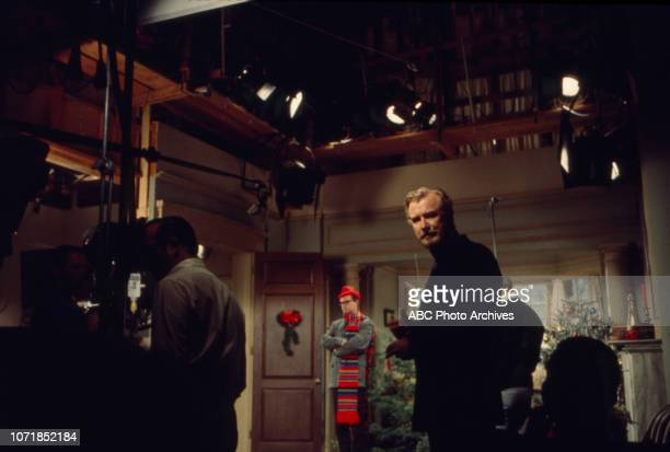 Charles Nelson Reilly Edward Mulhare behind the scenes on the Walt Disney Television via Getty Images's 'The Ghost Mrs Muir' episode 'The Ghost of...