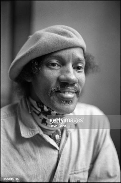 Charles Neville of the Neville Brothers at Bedford Corner Hotel, London, UK on 11 April 1985.
