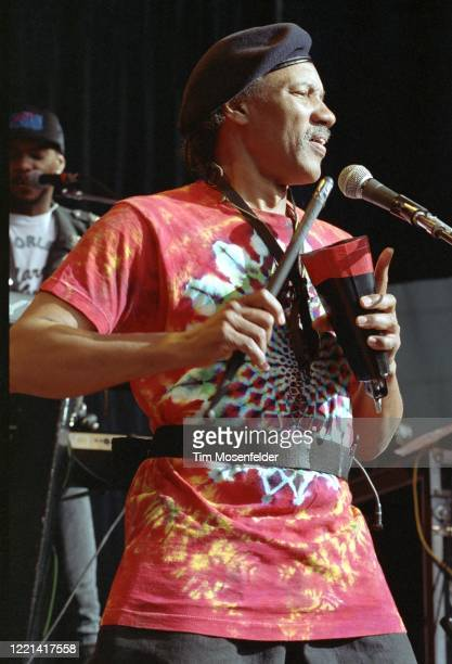 Charles Neville of the Neville Brothers performs during New Orleans By the Bay 1992 at Shoreline Amphitheatre on June 6, 1992 in Mountain View,...