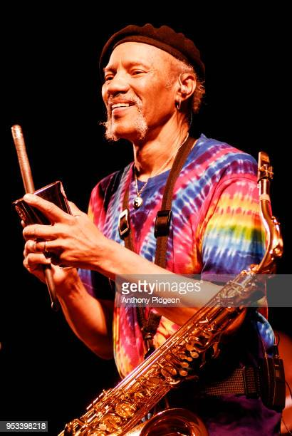 Charles Neville of The Neville Brothers performs on stage at Waterfront Blues Festival at Tom McCall Waterfront Park in Portland, Oregon, USA on 8th...