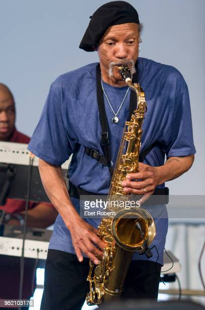 Charles Neville performing with Aaron Neville at the 40th Anniversary of The Jazz and Heritage Festival held in New Orleans, Louisiana on May 2, 2009.