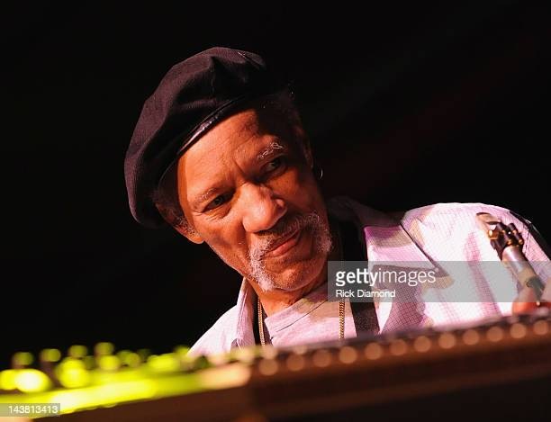Charles Neville performs at the Sold Out New Orleans Musicians For Obama Fundraising Event at Generations Hall on May 1, 2012 in New Orleans,...