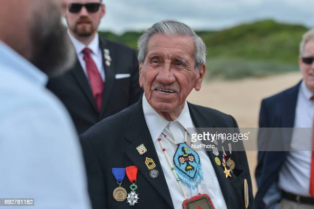 Charles Norman Shay a Native American soldier from WWII returns to Omaha beach for the 73rd anniversary of DDay On DDay 1944 Charles Shay was one of...