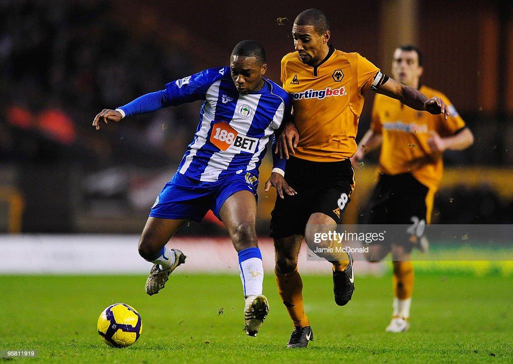 Wolverhampton Wanderers v Wigan Athletic - Premier League