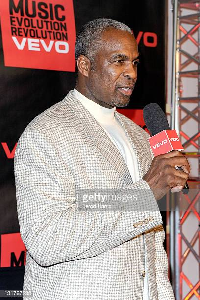 Charles Oakley arrives at the NBA Players Association AllStar Gala at JW Marriott Los Angeles at LA LIVE on February 19 2011 in Los Angeles California