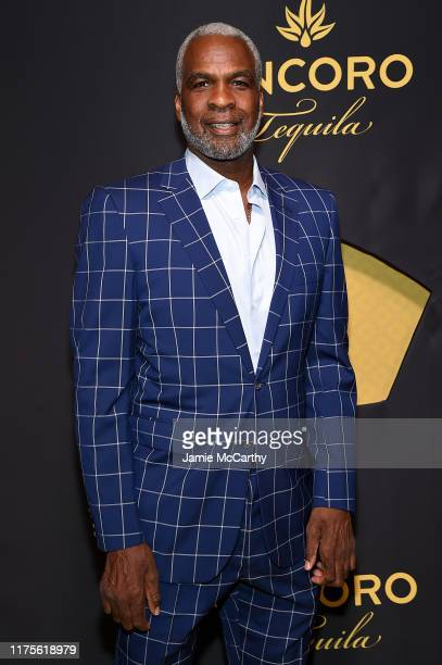 Charles Oakley attends the Cincoro Tequila launch at CATCH Steak on September 18, 2019 in New York City.