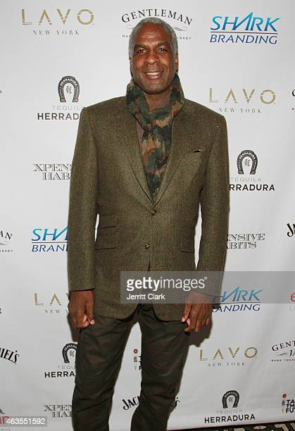 Charles Oakley attends The SharkDaymond John Presents 'Xpensive Habits' Lavo Brunch Sponsored By Jack Daniels Miller Lite Evian Water at Lavo on...
