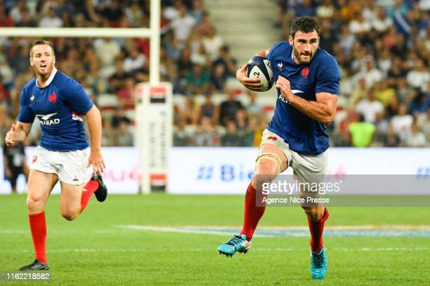 Charles Ollivon of France during the test match between France and Scotland on August 17 2019 in Nice France