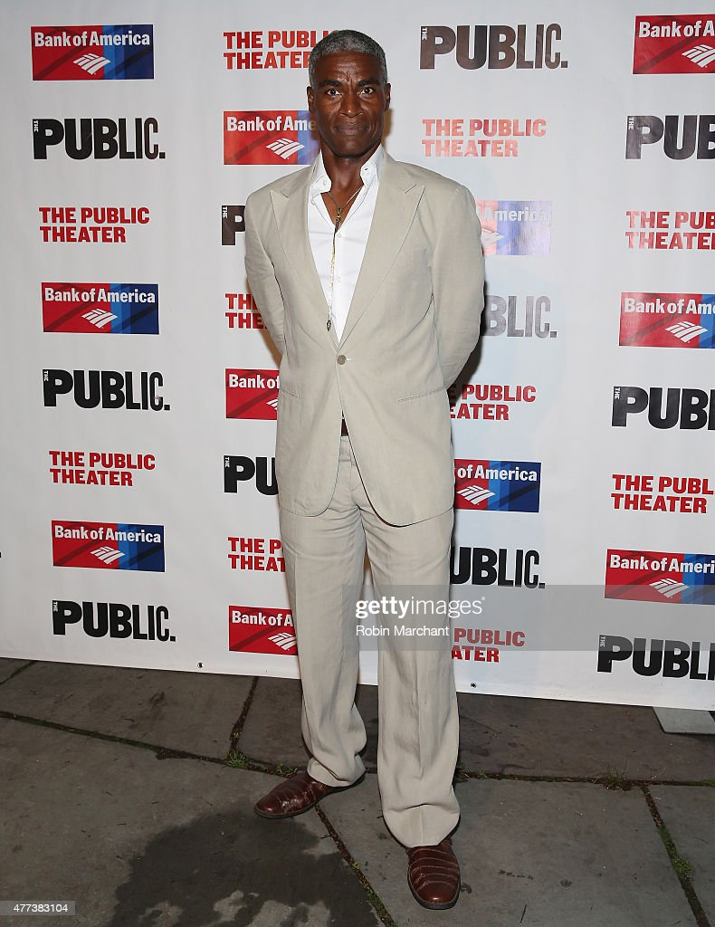 """The Public Theater's Opening Night Of """"The Tempest"""" -  Arrivals And Curtain Call"""