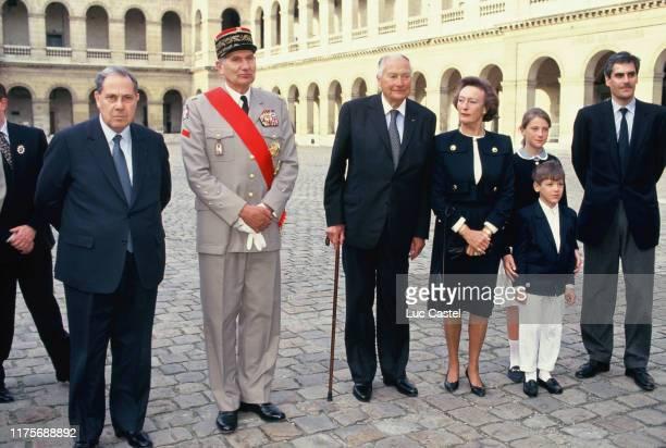 Charles Pasqua General Forray Prince Napoleon Princesse Alix Napoleon Princesse Caroline Marie Constance Napoleon Prince JeanChristophe Napoleon...