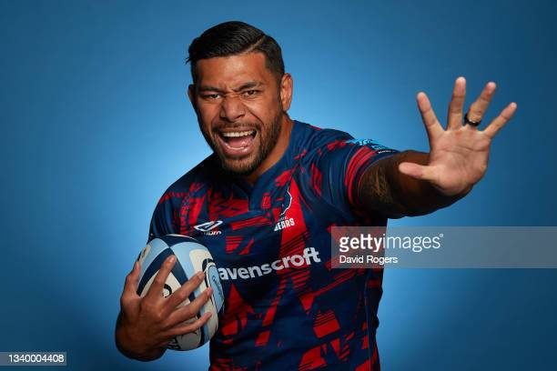 Charles Piutau of Bristol Bears poses for a photo during the Gallagher Premiership Rugby Season Launch at Twickenham Stadium on September 09, 2021 in...