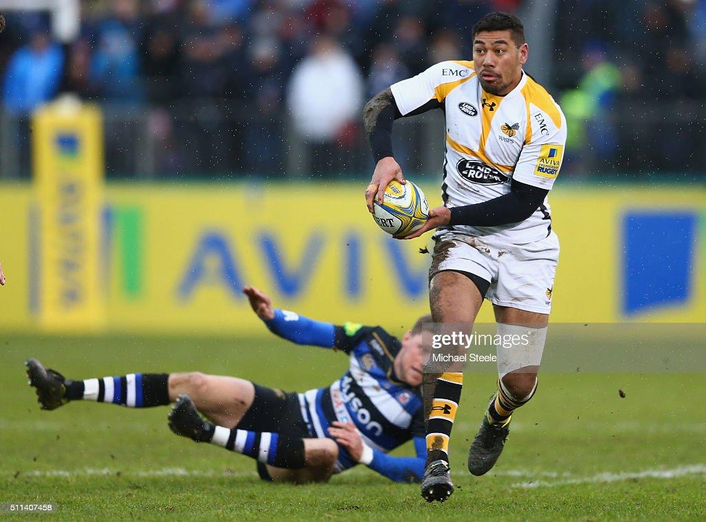 Bath Rugby v Wasps - Aviva Premiership : News Photo