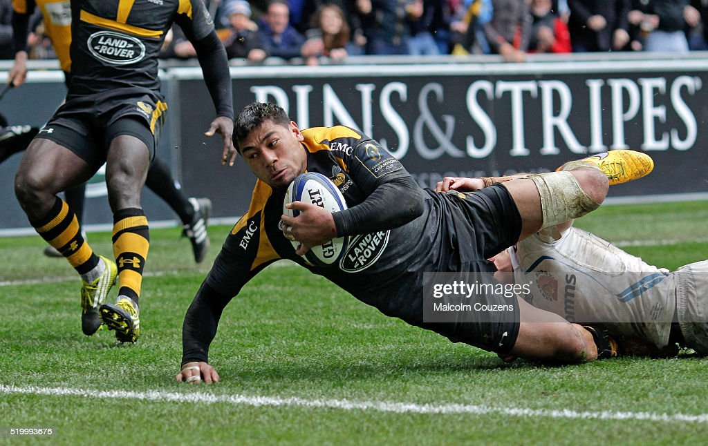 Wasps v Exeter Chiefs - European Rugby Champions Cup Quarter Final