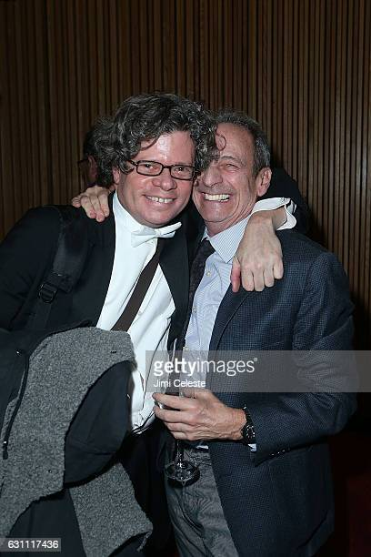 Charles Prince and Alexander Bernstein attend New York City Opera's Candide Opening Night Party at Jazz at Lincoln Center on January 6 2017 in New...