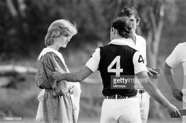 Charles, Prince of Wales and Diana, Princess of Wales visit Auckland, New Zealand. April 1983.