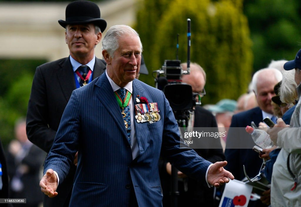 British Royal Legion Holds D-Day 75th Anniversary Ceremonies In Normandy : ニュース写真