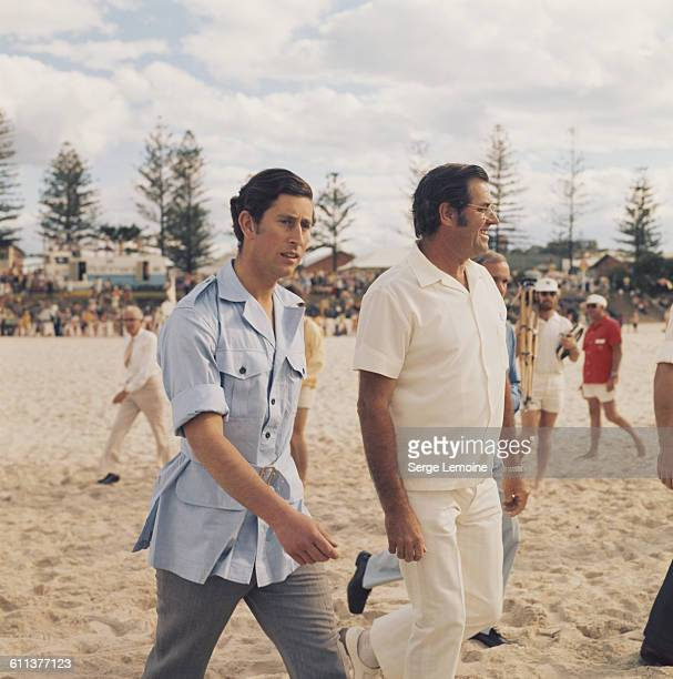 Charles Prince of Wales in Australia circa 1974